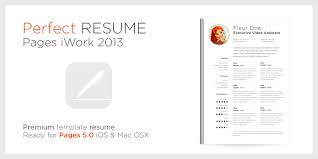Cover Letter Template For Mac Microsoft Resume Templates Apple Resume Cv Cover Letter