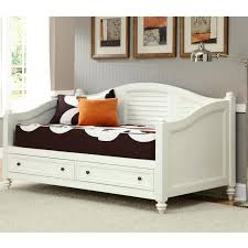 White Daybed With Trundle Daybed White Daybed With Drawers Storage Best Home Designs Bed