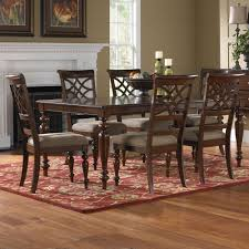 Cherry Dining Room by Standard Furniture Woodmont 7 Piece Leg Dining Room Set In Cherry