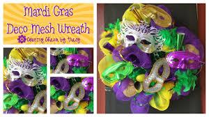 mardi gras mesh mardi gras deco mesh wreath