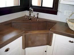 Kitchen Sink Modern Other Kitchen Windmill House Corner Sink Fresh Concrete Kitchen