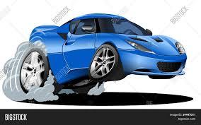 cartoon sports car vector cartoon car vector u0026 photo bigstock