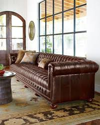 Old Hickory Tannery Chaise Old Hickory Tannery Sofa Neiman Marcus