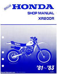 honda xr200 repair manual download free leanutorrent