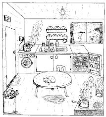 dessins de cuisine coloriage cuisine les beaux dessins de autres à imprimer et colorier