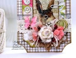 shabby chic spring u0026 easter decor polly u0027s paper studio