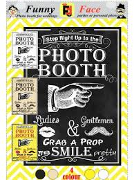 Wedding Photo Booth Props Instant Download Diy Printable Photo Booth Sign Vintage Wedding