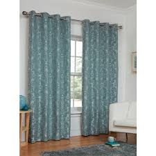 Duck Egg Blue Damask Curtains Cheap Curtains From B U0026m