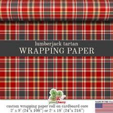 tartan wrapping paper christmas tartan custom wrapping paper by pineandberryshop on etsy