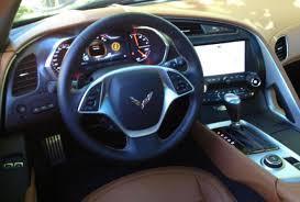 corvette stingray 2014 interior the wheel of the corvette stingray ny daily