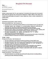 Nursing Assistant Resume Examples by Examples Of Cna Resumes