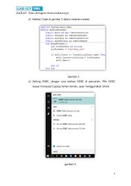 cara membuat koneksi database mysql menggunakan odbc membuat login dengan menghubungkan ke database di vb net