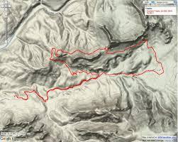 The Wave Arizona Map by Running U2013 Flagstaff Altitudes
