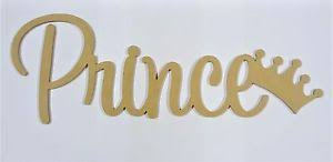 prince letters wall hanging wooden name sign nursery