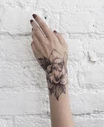 tattoo flower wrist tattoo tattoo for women nature flowers