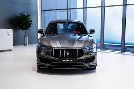 maserati s class larte design upgrades the maserati levante s with shtorm kit