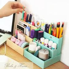 picture of cute diy desk organizer stationary ideas u0026 paper