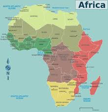 Mali Africa Map by Africa Map Countries And Capitals Map Of Africa Countries And