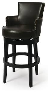 swivel bar stool with arms wood stools foter adjustable 24