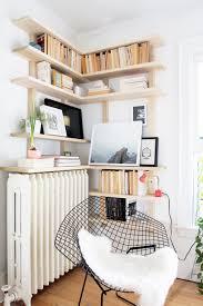White Bedroom Corner Shelves Custom Corner Shelving