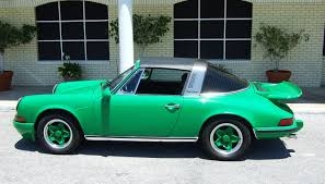 porsche 911 viper green 1972 porsche 911 e targa vintage motors of sarasota inc