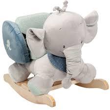 cute elephant plush baby rocking chair toys animal rocker buy