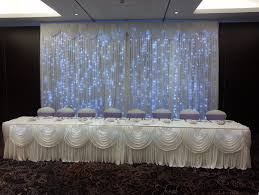 wedding backdrop hire my chair cover hire west 20ft wedding backdrop curtain hire