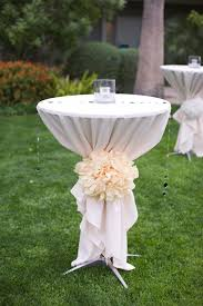 Elegant Backyard Wedding Reception by 50 Best Wedding Cocktail Tables Images On Pinterest Marriage