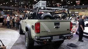 chevy concept truck chevrolet colorado zr2 concepts offer even more capability
