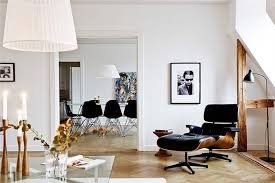 Eames Lounge Chair In Room The Very Versatile Eames Lounge Champagne U0026 Peanuts