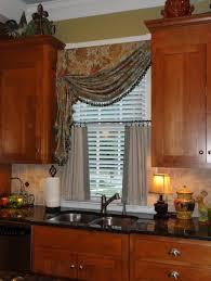 Kitchen Bay Window Curtain Ideas Kitchen Bay Window Curtain Ideas Kitchen Treatments Sink For