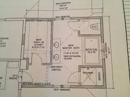Bedroom And Bathroom Addition Floor Plans Master Bathroom Floor Plans Fabulous Bath And In Master Bedroom