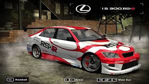 lexus is300 red lexus is300 rs r by andrewcoheneqg on deviantart