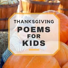 thanksgiving poems for