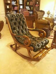 wood leather rocking chair wood leather rocking chair supplieranufacturers at alibaba com