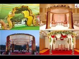 Mandap Decorations Indian Traditional Wedding Mandap Decorations Youtube