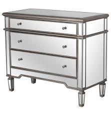 Hayworth Mirrored Chest Silver by Silver Mirrored Dresser Bestdressers 2017
