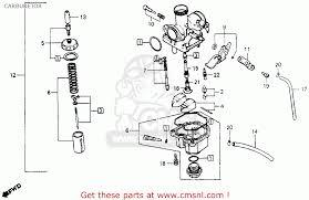 honda 200s carb diagram 1983 honda atc 200 carburetor u2022 sharedw org