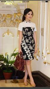 model dress hasil gambar untuk blouse batik modern lengan pendek batik