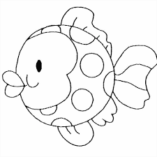 fish coloring pages printable getcoloringpagescom rainbow printables august preschool themes