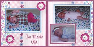 baby girl photo album scrappin nana baby girl album continued