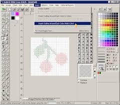 cross stitch pattern design software cross stitch creating simple design