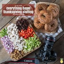 everything bagel vegan thanksgiving free gf option