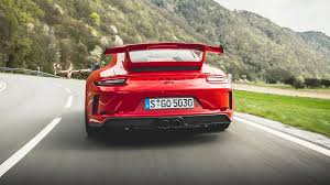 porsche red 2017 porsche 911 gt3 2017 review by car magazine