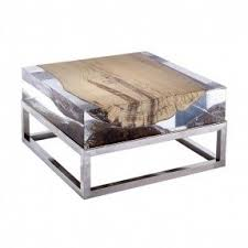 Steel And Glass Coffee Table Stainless Steel Coffee Tables Foter