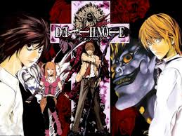 death note anime manga death note