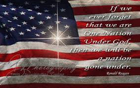 Americana Flags American Flag One Nation Under God President Ronald Reagan