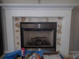 fireplace mantel tile home decorating interior design bath