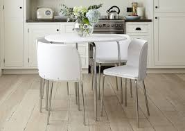 White Wood Dining Table Space Saving Dining Tables Go Argos