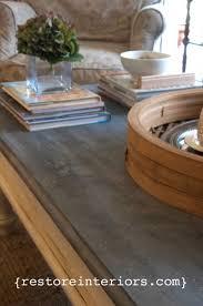 Zinc Table Top Best 25 Zinc Table Ideas On Pinterest Diy Zinc Furniture Zinc